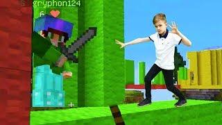 Мини-игра Бед Варс! Майнкрафт видео для мальчиков.