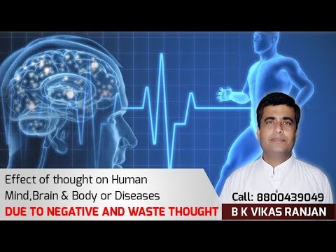 Impact of Negative thoughts in our Life and Body