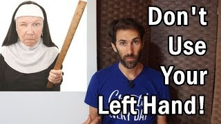 Understanding Aspergers | Analogy #1 - Being Left Handed