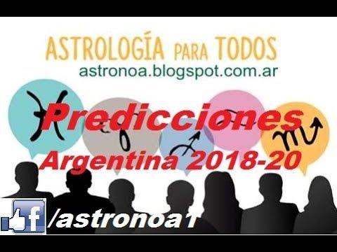 Predicciones para la Argentina desde el 2018 al 2020