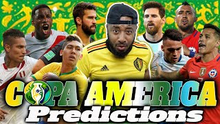 Video-Search for 2019 Copa América Predictions