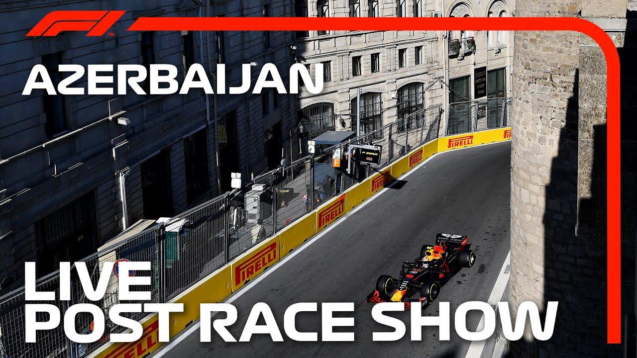 F1 LIVE: Spectacle d'après-course du GP d'Azerbaïdjan