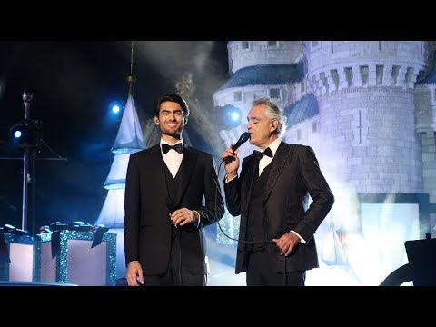Andrea Bocelli Live For ABC's Holiday Tapings From The Magic Kingdom!