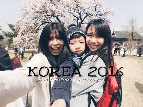 KOREA - MARCH | APRIL 2016 (SPRING - CHERRY BLOSSOM)
