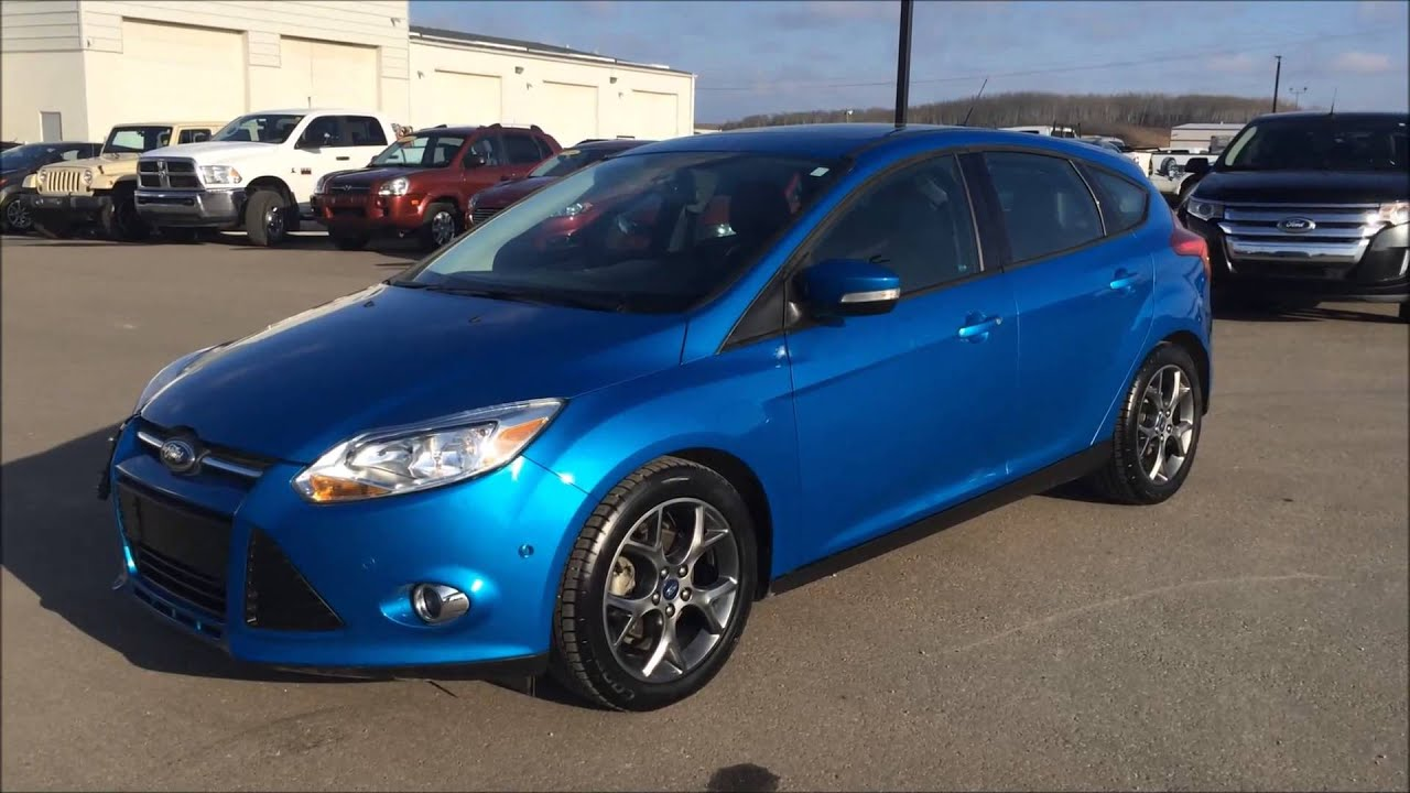 2013 Ford Focus SE with Park Assist