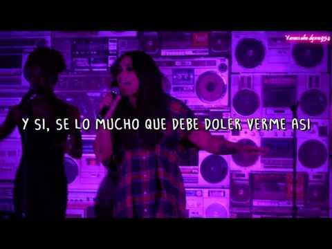 Demi Lovato  Sorry Not Sorry Traducido en español