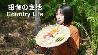 【幻想的な田舎の世界】大切な何かを思い出す。朝食の音:蝉の声:ASMR
