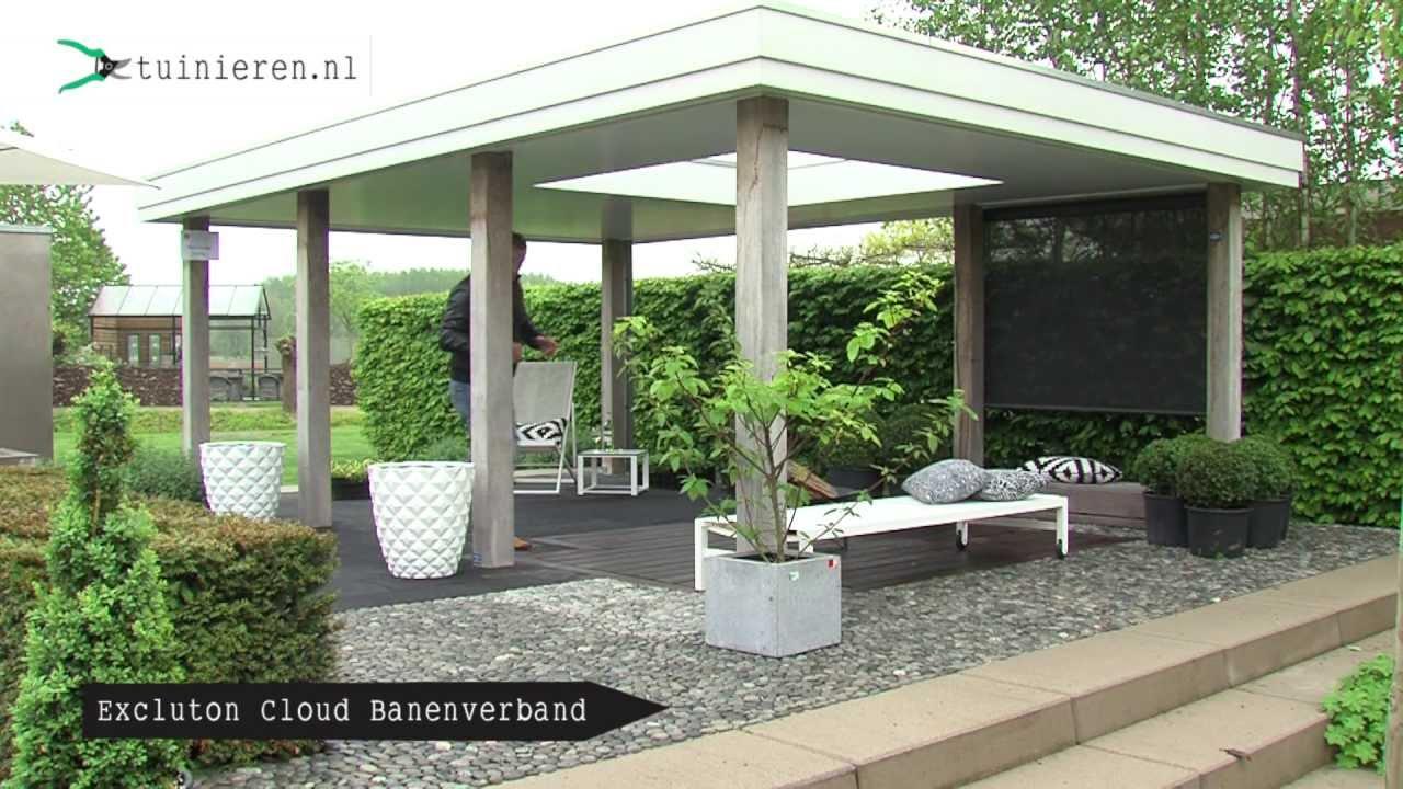 Tuinhuis tuinhuis vastzetten : Moderne strakke tuin ontwerpen - Tuinieren.nl - YouTube