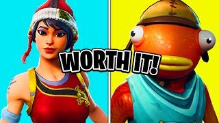 Top 10 Most WORTH IT Fortnite Skins! (Best Budget Fortnite Skins)