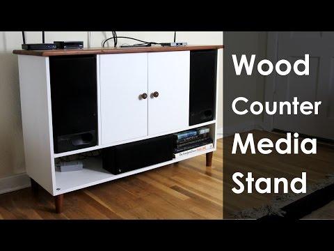 DIY Media Stand | Darbin Orvar