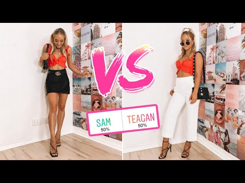 Who Wore It Better? Twin Vs Twin Challenge - The Rybka Twins