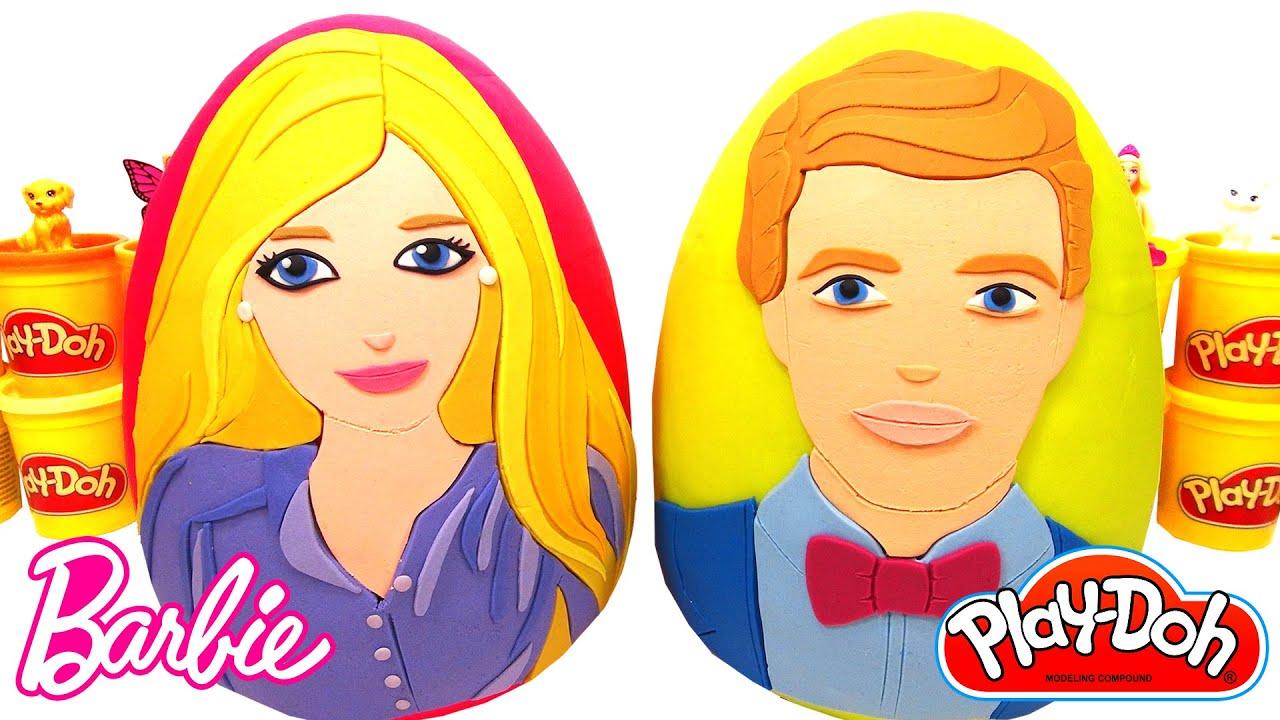 Download Barbie ve Ken Sürpriz Yumurtaları - 2 Dev Sürpriz Yumurta Barbie Elbiseleri Aksesuarları