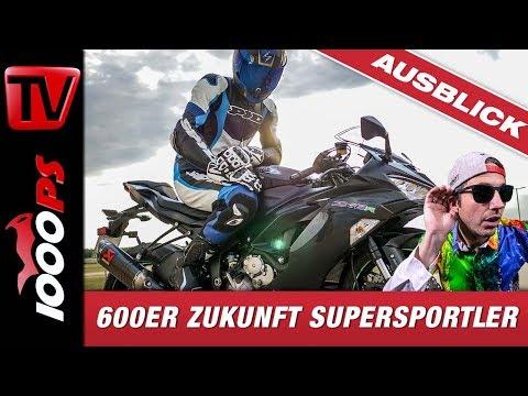 600er Zukunft Supersportler - Gedanken im Sattel der Kawasaki Ninja ZX-6R