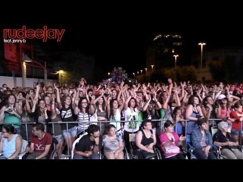 Rudeejay feat. Jenny B LIVE Show @ Radio Stop Festival (Marina di Cecina) per ADMO - 08.07.2012