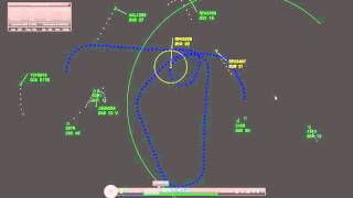 Near Miss at Reagan National: Radar Replay and Air Traffic Control Audio