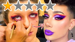 THE WORST REVIEWED MAKEUP ARTIST COPIED @James Charles