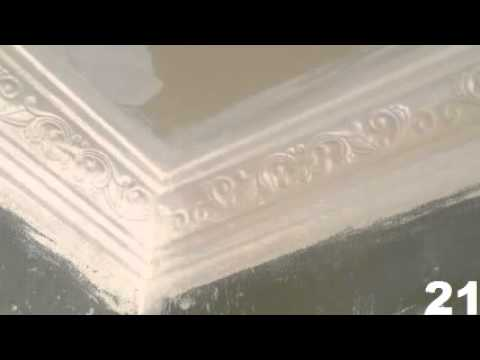 Cornice Border And Central Panel Flower Design