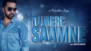 Tu Mere Saamne KARAOKE with Lyrics by Raveen Khoesial