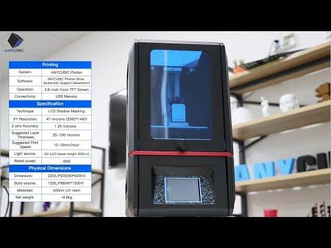 Anycubic Photon LCD/DLP/SLA 3D Printer – ANYCUBIC 3D Printing
