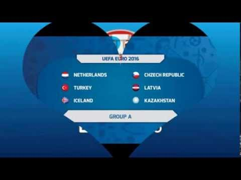 UEFA Euro 2016 Qualifying Groups...