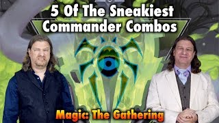 5 Of The Sneakiest Commander Combos For Magic: The Gathering Games