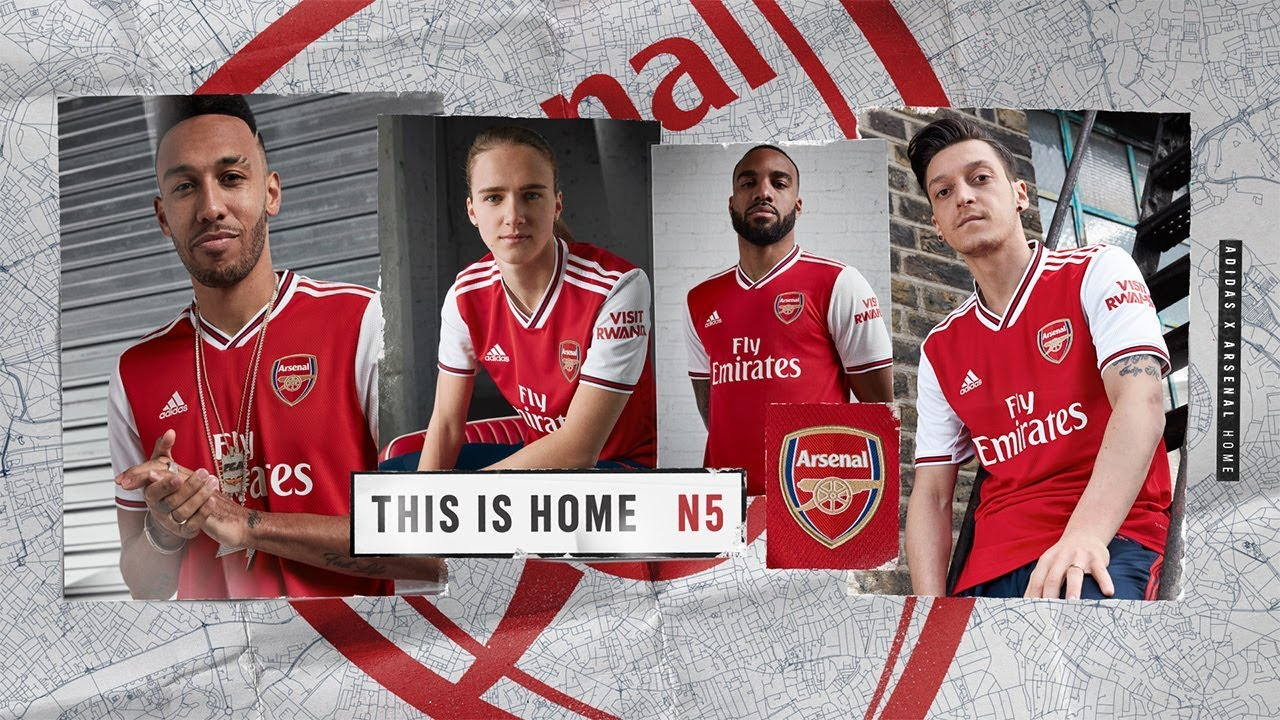 Adidas X Arsenal Introducing The Arsenal 2019 20 Home Jersey Youtube