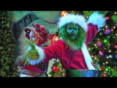 You're a Mean One Mr. Grinch song during the Grinchmas Musical 2013 at Universal Orlando