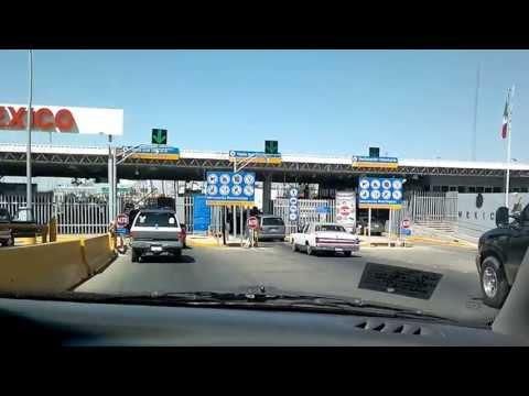 Frontera Mexico y Estados Unidos.Ciudad Juarez y el Paso Tex.