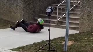 Skateboarder Lands on Face During Photoshoot - 989856