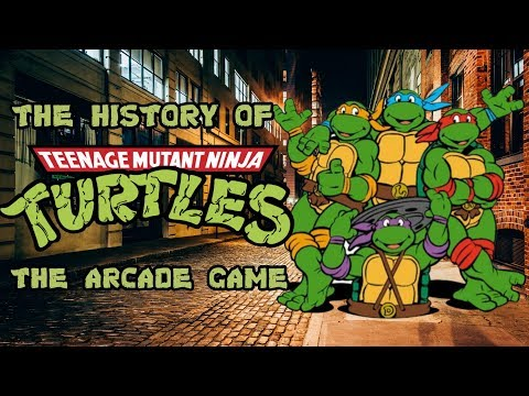 The History Of Teenage Mutant Ninja Turtles – Arcade Documentary