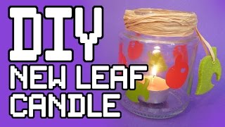 Animal Crossing Candle Diy