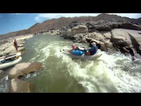 Orange River Rafting - Umkulu - Namibia (part 1)