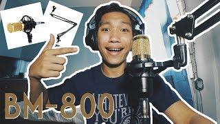 UNBOXING BM-800 (CHEAPEST CONDENSER MICROPHONE) | Bisaya Vlog