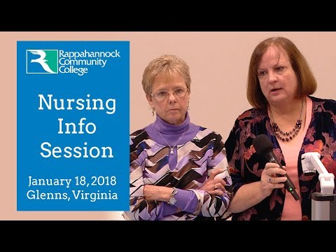 RCC Nursing Info Session from January 18, 2018