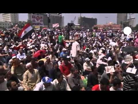 Mass protest in Cairo's Tahrir Square