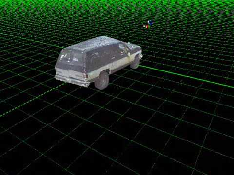 3D Laser Scan of a Auto Accident