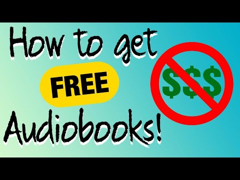 How To Get FREE Audiobooks (Top Five Sources)