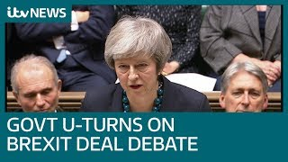 Theresa May confirms crunch Brexit vote delayed | ITV News