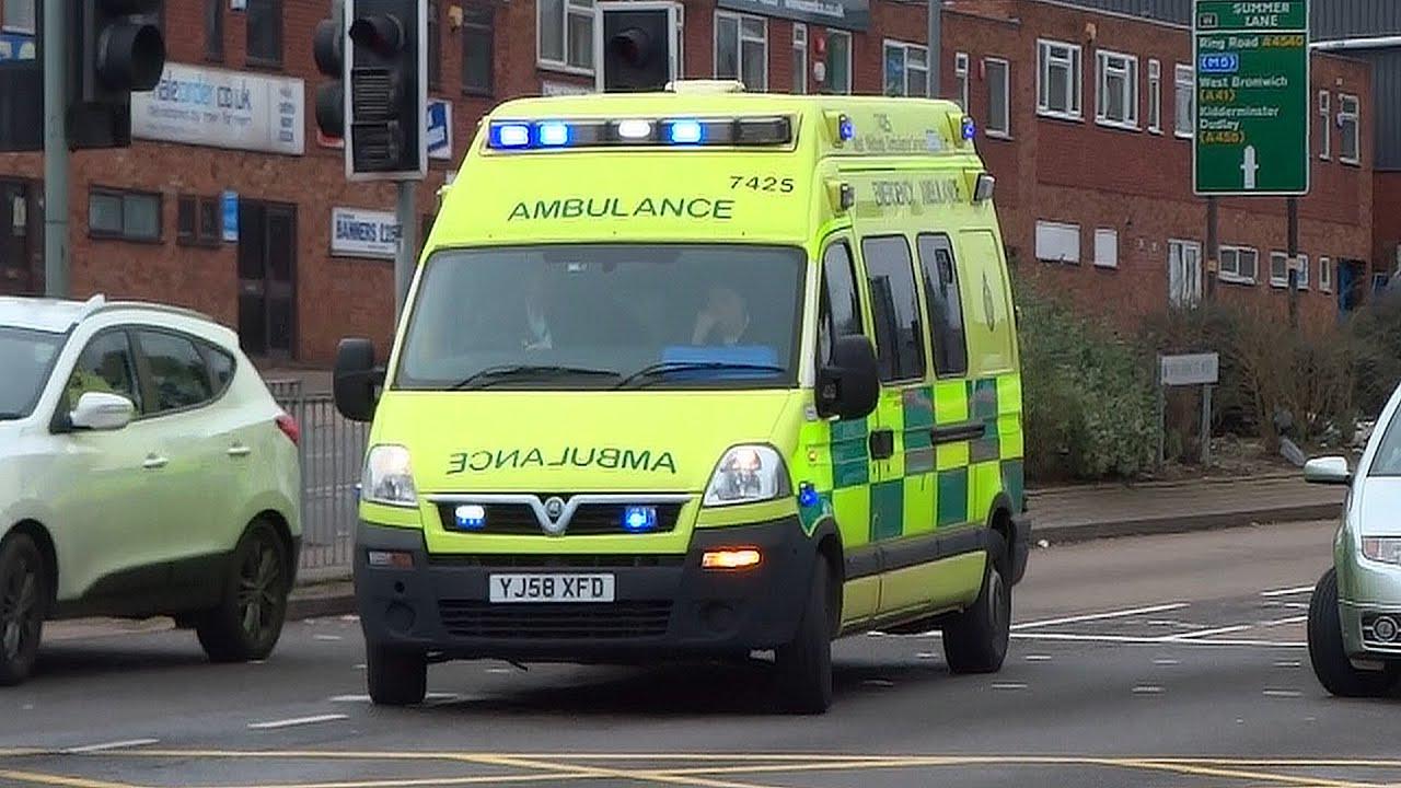 Vauxhall Movano Emergency Ambulance 7425 Responding West Midlands Wiring Diagram Service Youtube