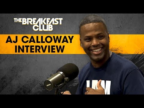 AJ Calloway Talks 'We Are HUman' Homecoming Event, Lauryn Hill, Biggie & More