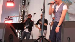 ESCKAZ live in Malmö: Ott Lepland, Tanel Padar and band at Estonian party in Eurovillage pt 3