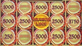 ★ HUGE WINNING on DRAGON LINK! ★ BONUS INSANITY ★ HOLD AND SPIN FOR DAYS! ★