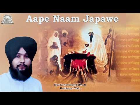 Aape Naam Japawe | Bhai Gurtar Singh Ji (Preet) Hoshiarpur Wale | Audio Jukebox | Shabad Gurbani