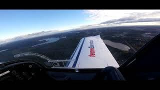 Lentotunti #4 - Ekaa kertaa YKSIN LENTOKONEESSA Video