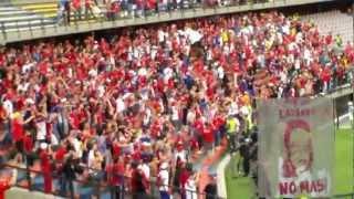 MEDELLIN 0 VS tolima 1   MAYO/06/2012  FECHA # 15... FUERA LOS LADRONES DEL BALON