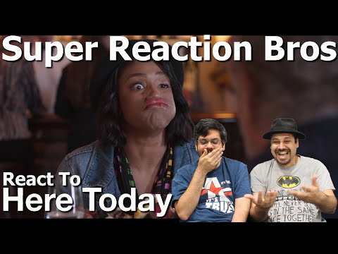 SRB Reacts To Here Today | Official Trailer