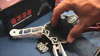 drone Q330 mini quadcopter cc3d