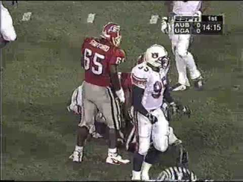 Auburn Tigers @ Georgia Bulldogs | 45-34 | 11-15-1997 | College Football