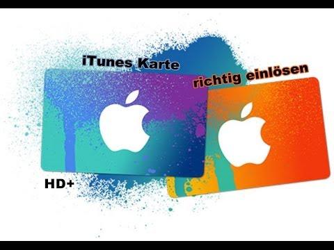 Itunes Karte 5.Apple Itunes Karten Einlösen German Hd