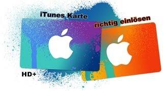 Apple iTunes-Karten einlösen [German/HD+]